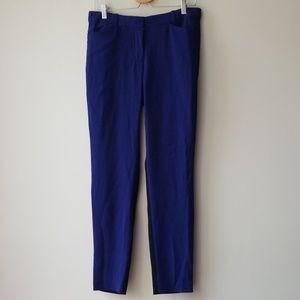 Aritzia Sz 8 Colorblock Blue Black Pants Trousers